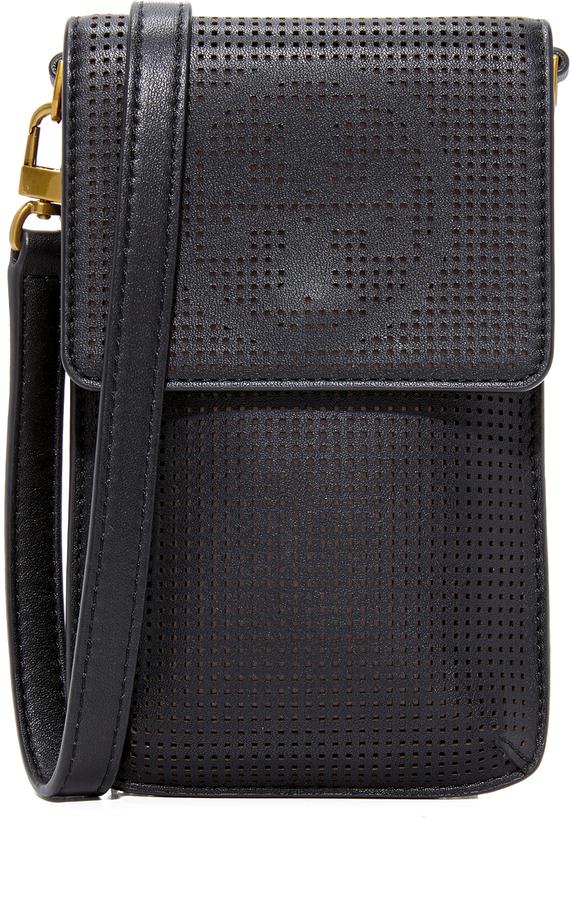 Tory BurchTory Burch Perforated Cross Body Phone Bag