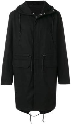 Raf Simons replicants hooded jacket
