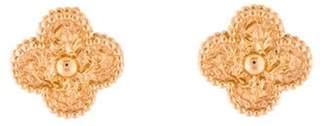 Van Cleef & Arpels Vintage Alhambra Earrings rose Vintage Alhambra Earrings
