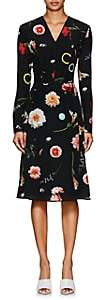 Narciso Rodriguez Women's Floral Silk Dress - Black Multi