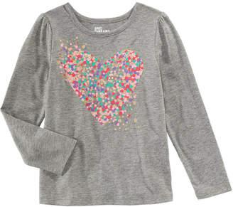 Epic Threads Little Girls Dot-Print Heart T-Shirt