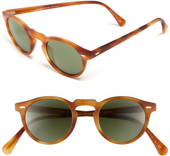 Oliver Peoples 45mm Keyhole Sunglasses