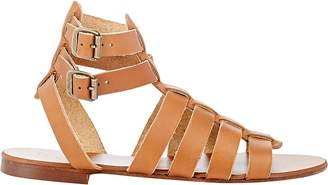 Barneys New York WOMEN'S DOUBLE-BUCKLE GLADIATOR SANDALS