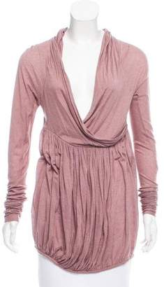 Bottega Veneta Draped Surplice Top w/ Tags