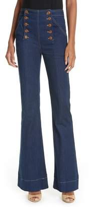 Ulla Johnson Ashton Flare Jeans