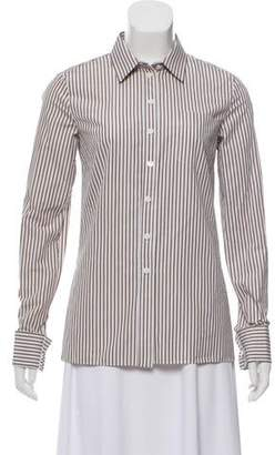 Michael Kors Striped Button-Up