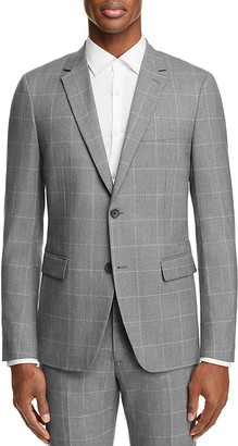 Theory Wellar Bold Grid Slim Fit Suit Separate Sport Coat - 100% Exclusive $595 thestylecure.com