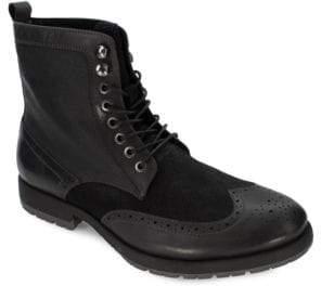 Robert Wayne Richard Leather Wingtip Boots