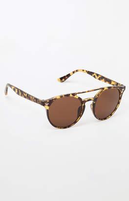 PacSun Round Double Bridge Tortoise Sunglasses