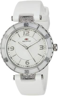 Seapro Women's SP6410 Casual Seductive Watch, Silver