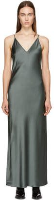Joseph Green Silk Clea Dress
