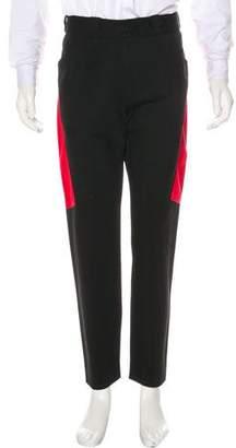 Alexander Wang Slim Fit Colorblock Pants