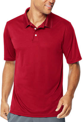 Hanes Short Sleeve Jersey Polo Shirt