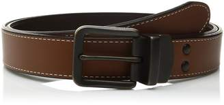 Fossil Men's Leather Fitz Reversible Belt
