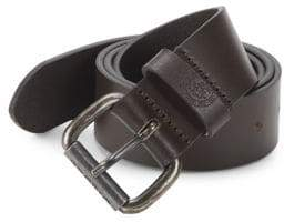 Diesel Logo Leather Belt