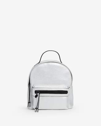 Express Metallic Mini Backpack