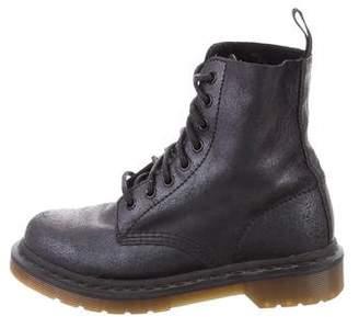 Dr. Martens Metallic Combat Boots