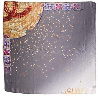 Chanel Paris-Byzance Silk Scarf