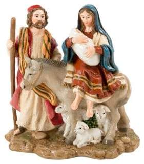 Fitz & Floyd The O Holy Night Journey Holiday Musical Figurine