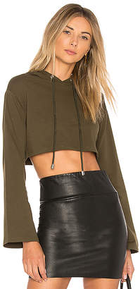 by the way. Loni Crop Hoodie