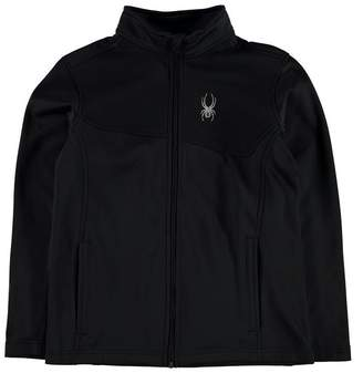 Spyder Sanction Sweat Junior Boys Thermal Baselayer Sports Long Sleeve Zip