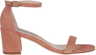 Stuart Weitzman Simple Buckled Sandals