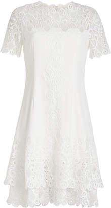 Jonathan Simkhai Mini Dress with Lace
