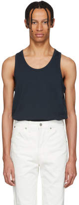 Lemaire SSENSE Exclusive Blue Tank Top