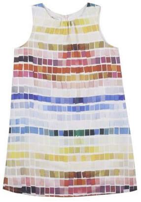 Paul Smith 8-14 Years Tile Print Dress