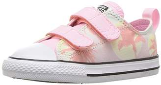 Converse Kids' Chuck Taylor All Star 2V Palm Trees Low Top Sneaker