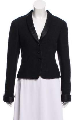 Chanel Tweed Structured Blazer