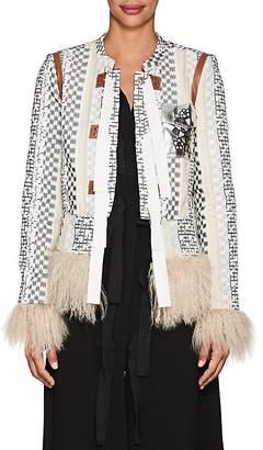 Altuzarra Women's Avenue Embellished Brocade Jacket