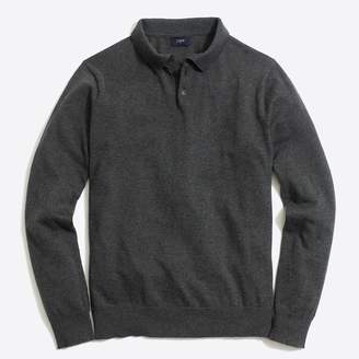 J.Crew Factory Harbor cotton polo sweater