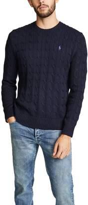 Polo Ralph Lauren Long Sleeve Crew Neck Sweater