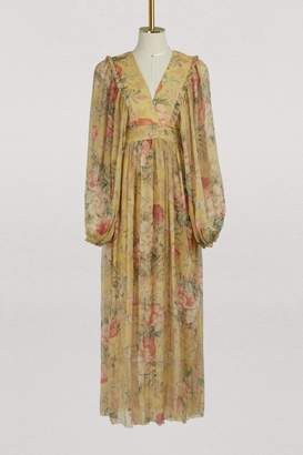Zimmermann Melody silk maxi dress