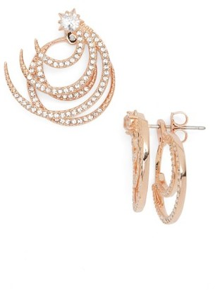 Women's Nadri Wishes Two-Piece Drop Back Earrings $85 thestylecure.com