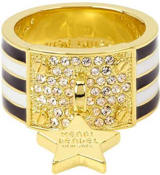 Henri Bendel Hb Enamel Star Ring