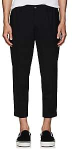 DSQUARED2 Men's Worsted Wool Slim Trousers-Black Size 44 Eu