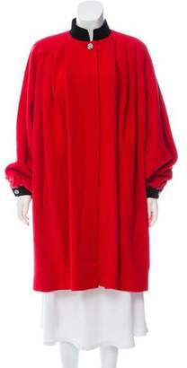 Valentino Knee-Length Wool Coat