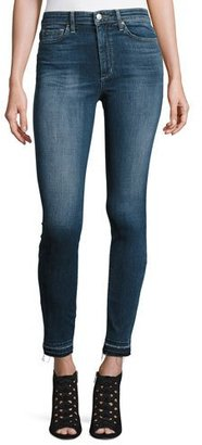 Joe's Jeans The Charlie Released-Hem Skinny Ankle Jeans, Breanna $189 thestylecure.com