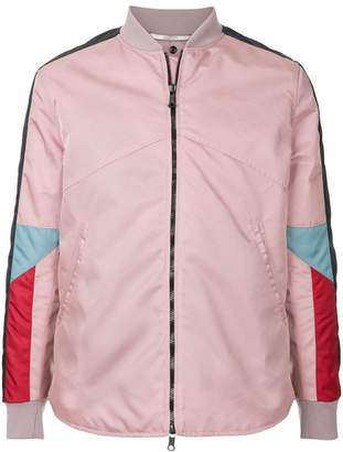 Valentino contrast panel jacket