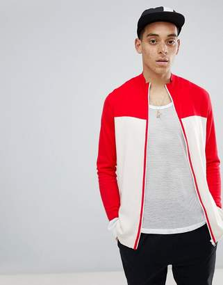 Asos Knitted Track Top