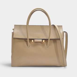 70d4a356410a Marni Soft Leather Shoulder Bag In Black Calfskin