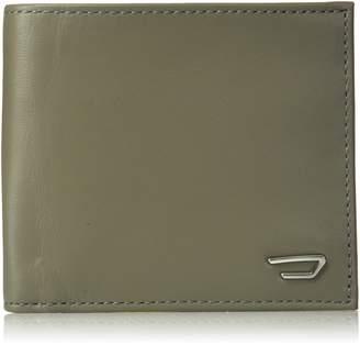 Diesel Men's Back to U Hiresh Small Leather Bi-Fold Wallet