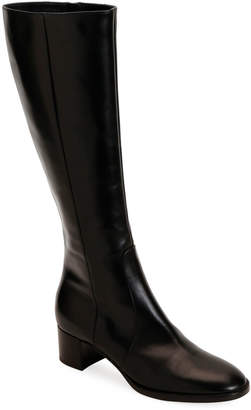 Gianvito Rossi Tall Soft Leather Knee Boots