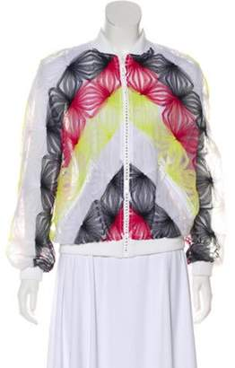 Alexis Mabille Tulle Mesh Bomber w/ Tags White Tulle Mesh Bomber w/ Tags