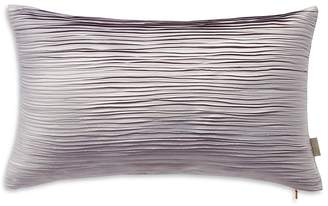 "Ted Baker Frayed Edge Decorative Pillow, 12"" x 22"""