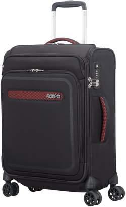 American Tourister Airbeat 55cm Cabin Suitcase Black