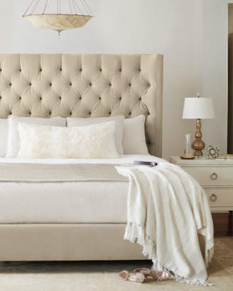 Bernhardt Audrey Tufted King Bed