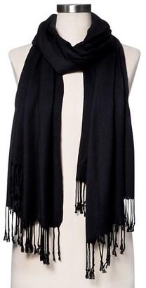 Merona Fashion Scarves Solid Black - Merona $14.99 thestylecure.com